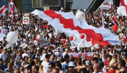 Protestele din Belarus continuă, Svetlana Tihanovskaia este în exil în Lituania