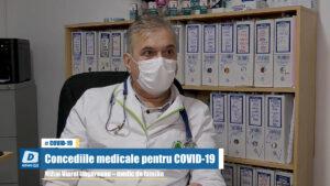 Concediile medicale pentru COVID-19