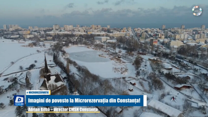 Imagini de poveste la Microrezervația din Constanța!