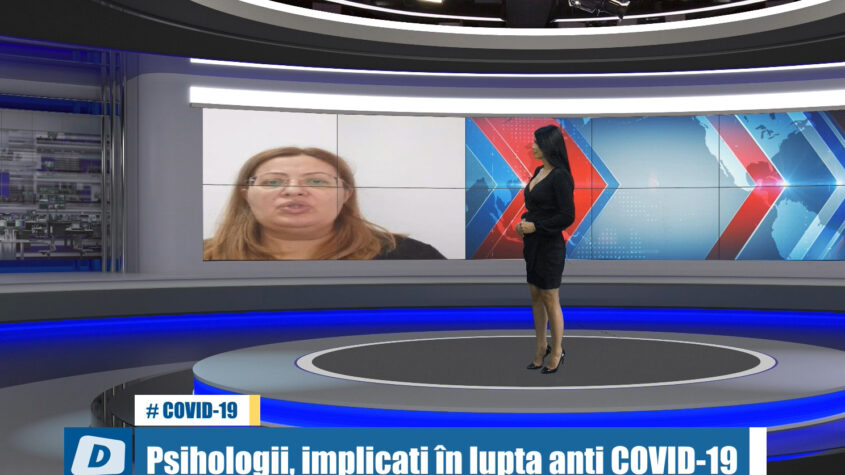 Psihologii constănțeni, implicați în lupta anti COVID-19