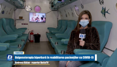 Oxigenoterapia hiperbară în reabilitarea pacienților cu COVID-19
