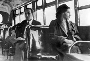1 Decembrie 1955, Rosa Parks pornește boicotarea autobuzelor din Montgomery