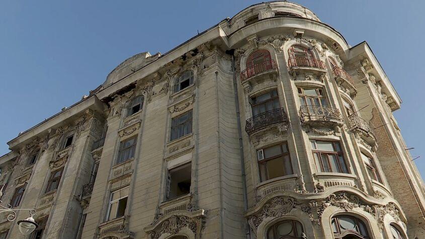 Casa Embiricos, pe punctul de a se prăbuși