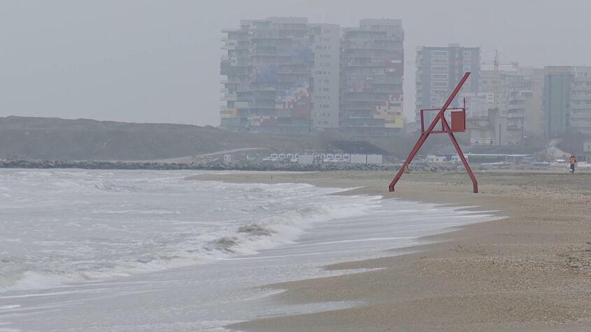 Plaje afectate de eroziune