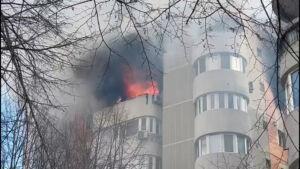 incendiu bloc CT