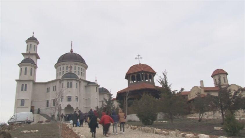 """Hram la mănăstirea """"Sfântul Ioan Casian"""""""