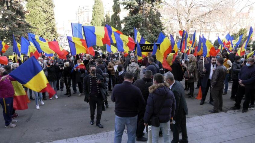 Protest față de vânzarea Portului Constanța