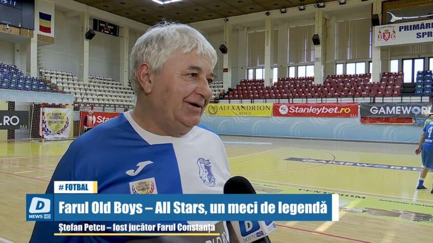 Farul Old Boys – All Stars, un meci de legendă