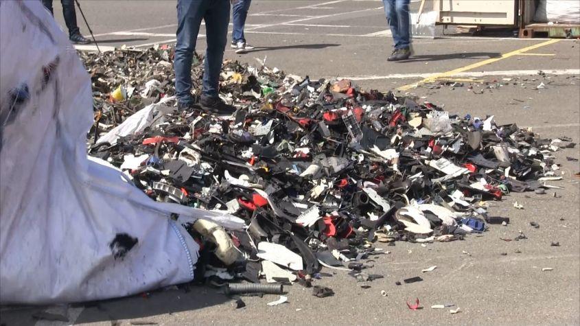 România, asaltată de gunoaie