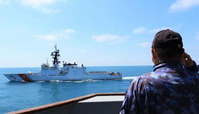"""Fregata """"Mărășești"""" a participat la exerciții româno-bulgaro-americane în Marea Neagră"""
