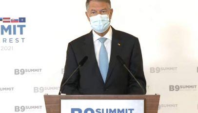Iohannis: Situația de securitate de la Marea Neagră este îngrijorătoare
