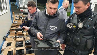 2.850 pistoale fără documente legale