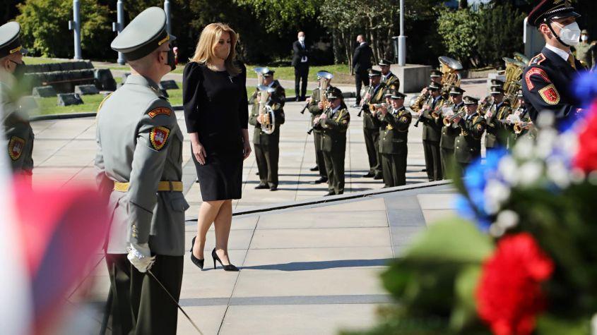 Președinta Zuzana Caputova evocă rolul armatei române în eliberarea Slovaciei în al Doilea Război Mondial
