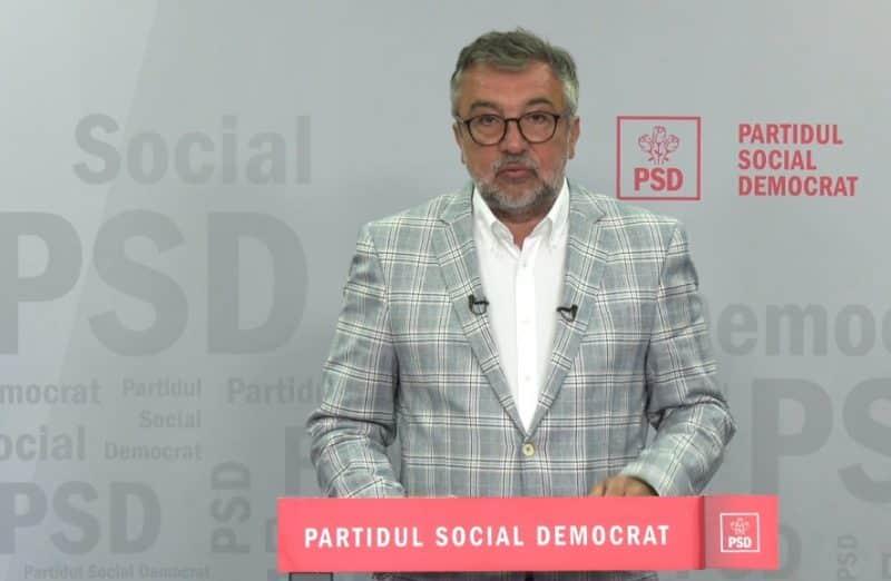 """Sub titulatura """"România eşuată. Recordul 'fantastic' al Guvernului Cîţu"""", PSD a depus o moțiune de cenzură"""