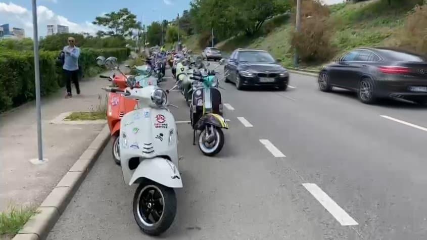 S-a deschis sezonul de scutere la Constanța