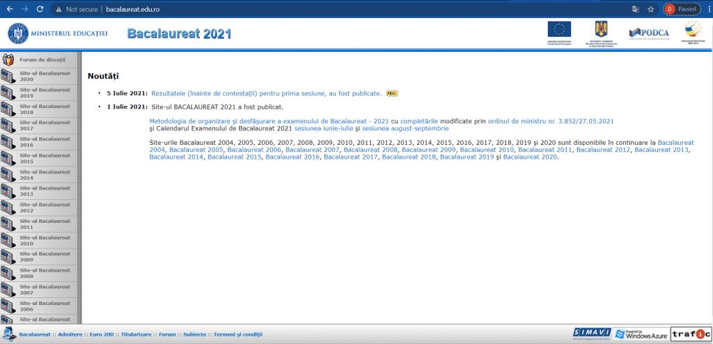 BAC 2021 | Rezultatele au fost anunțate oficial de Ministerul Educației !