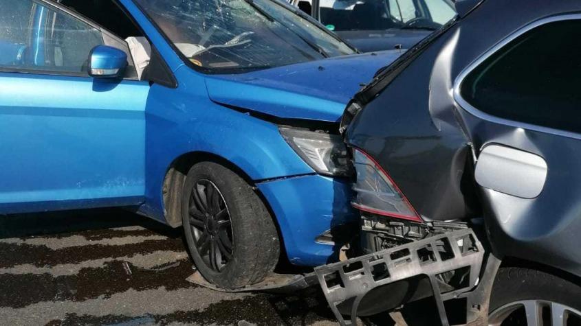 Carambol cu cinci autovehicule pe Autostrada A2   Două persoane au fost rănite!