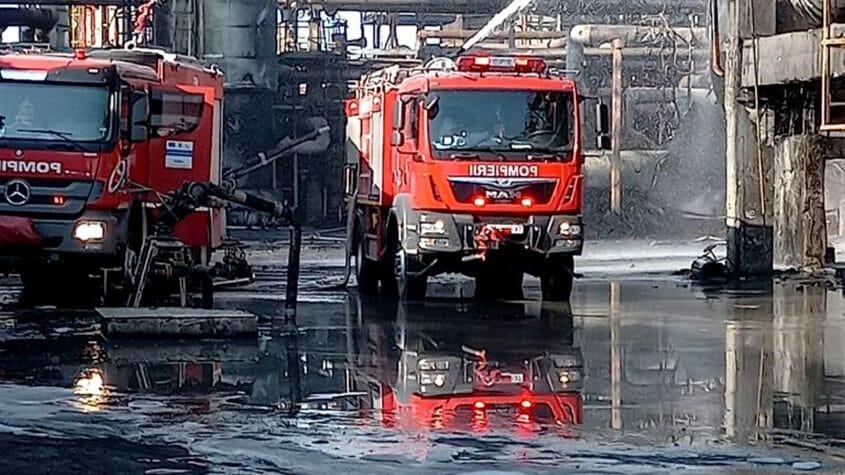 Al doilea deces, în urma exploziei de la rafinăria Petromidia