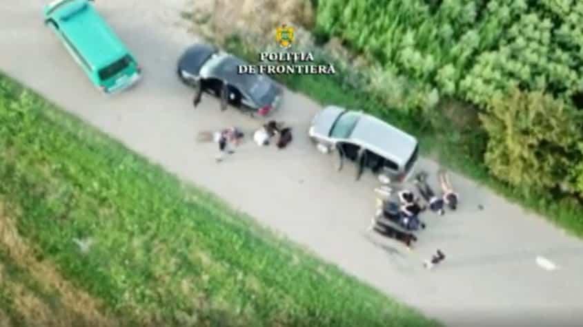 cetățeni români prinși în flagrant de polițiștii de frontieră