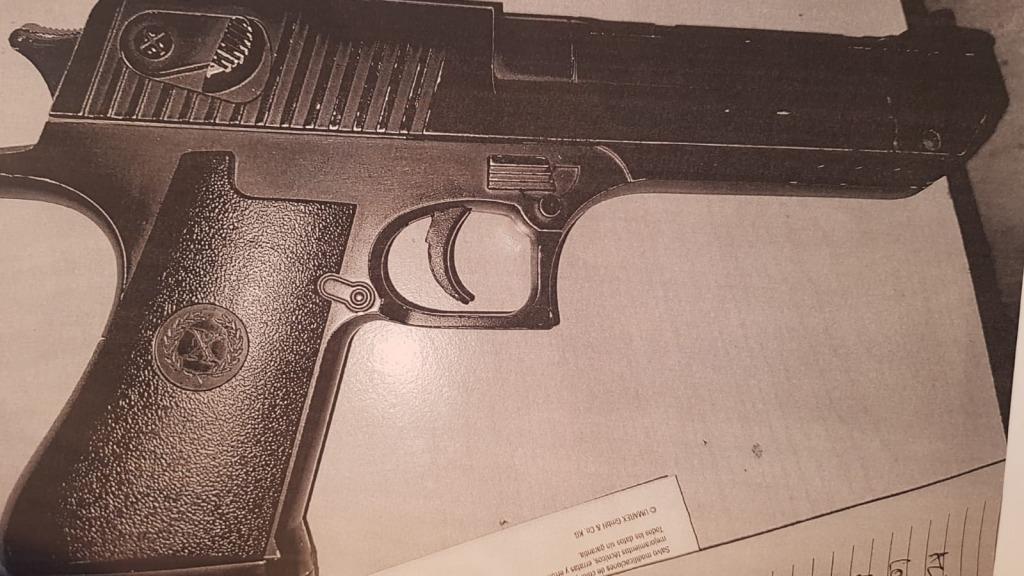 Constanța: Un tânar de 19 ani, surprins de polițiști când trăgea cu o armă