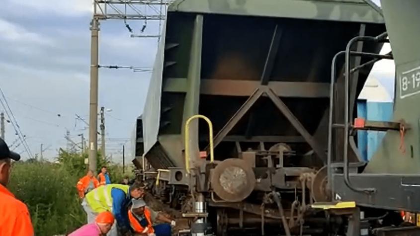 Linia ferată București - Constanța a fost deblocată
