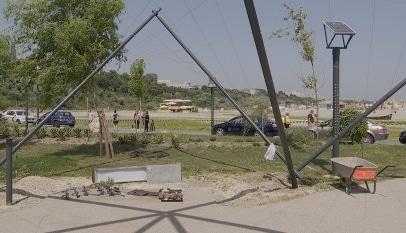Parcul de fitness la Constanța