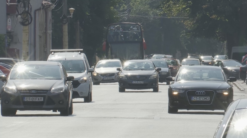 Bulevardele Constanței, poluate fonic