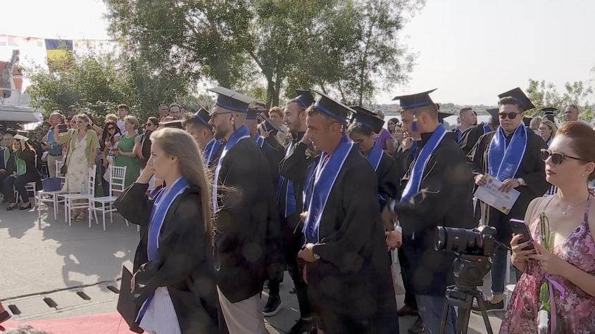 Sărbătoarea absolvenților la UMC Constanța